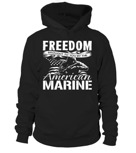 Marine Mom Freedom Brought To You T-shirts