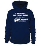 Air Force Mom My Son Airman Hero T-shirts - MotherProud