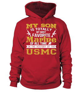 Marine Mom - My Son Is My Most Favorite