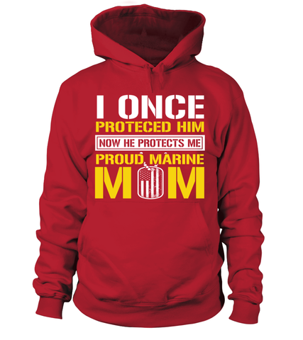 Marine Mom Protects T-shirts