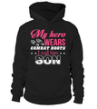 Military Mom Hero Combat Boots T-shirts