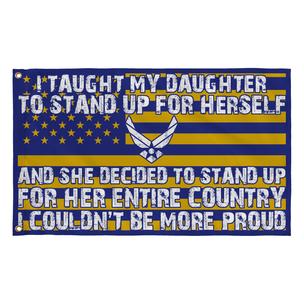Air Force Mom Couldn't Be More Proud Daughter Flag - MotherProud