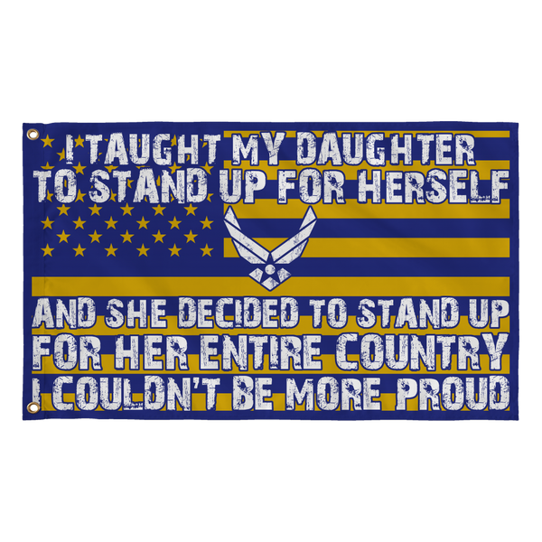 Air Force Mom Couldn't Be More Proud Daughter Flag