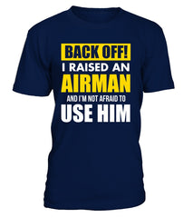 Air Force Mom Back OFF T-shirts