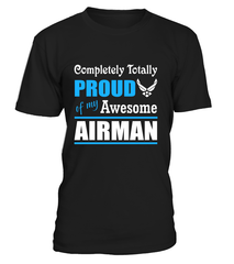 Air Force Mom Completely Totally T-shirts