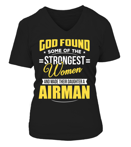 Air Force Mom God Found Strongest Daughter