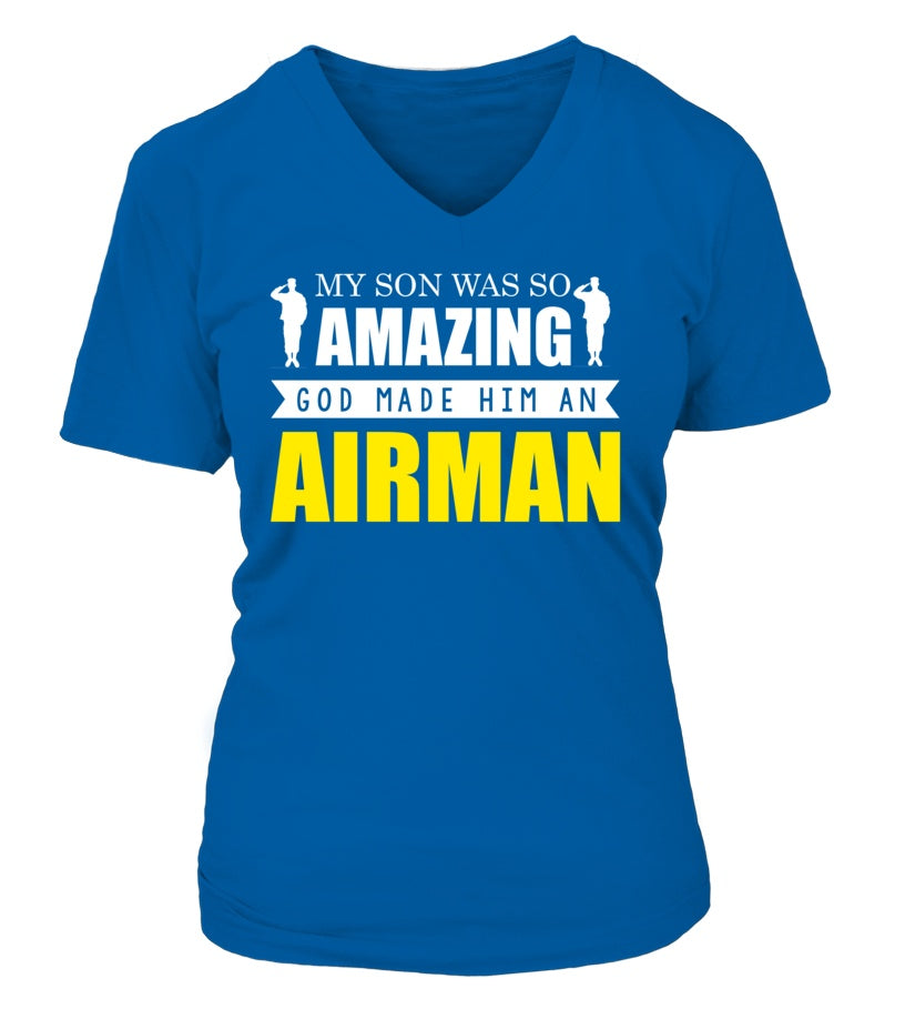 Air Force Mom God Made Airman - MotherProud