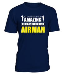 Air Force Mom God Made Airman Daughter
