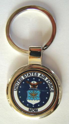 United States Air Force Proud Mom Premium Key Chain - MotherProud