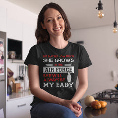 Air Force Mom Daughter No Matter How Much T-shirts