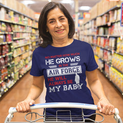 Air Force Mom No Matter How Much T-shirts