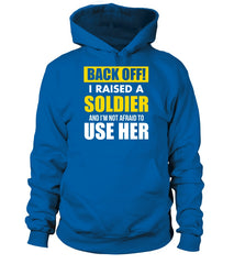 Army Mom Back OFF T-shirts Daughter
