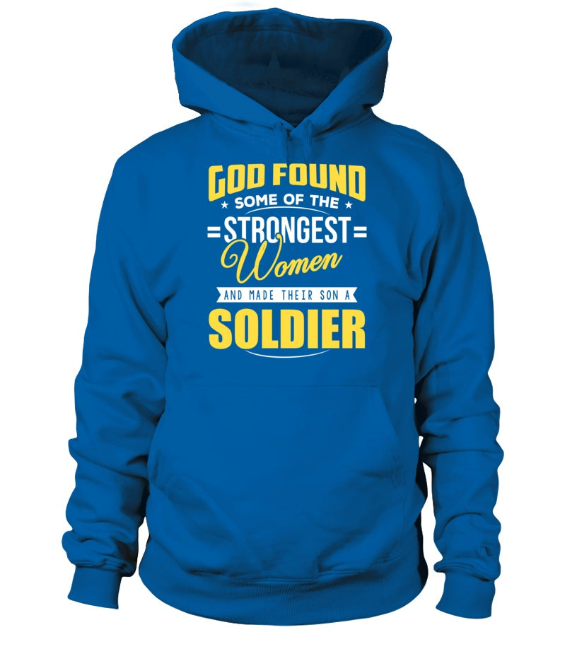 Army Mom God Found Strongest - MotherProud