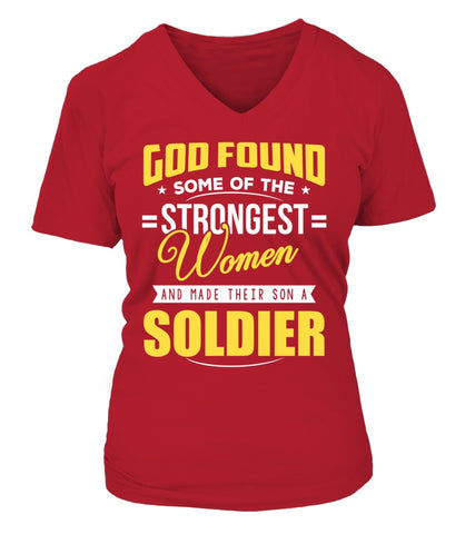 Army Mom God Found Strongest