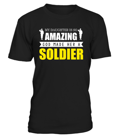 Army Mom God Made Soldier Daughter