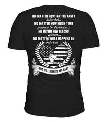 Army Mom - She Will Always My Baby