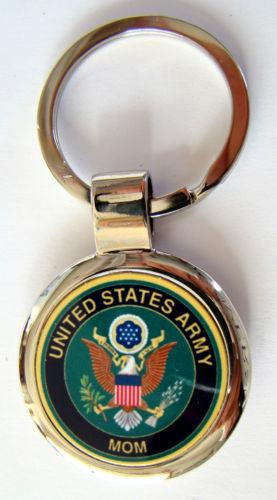 Army - United States Army Proud Mom Premium Key Chain