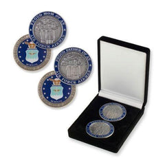 Air Force Mom And Dad CHALLENGE COIN SET - MotherProud