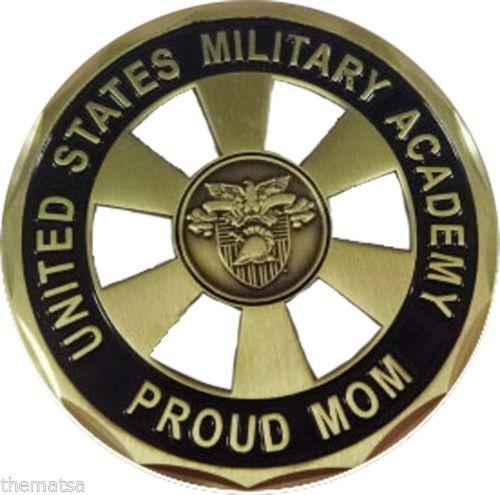 Proud Mom MILITARY ACADEMY WEST POINT CHALLENGE COIN