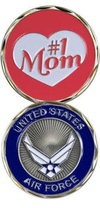 U.S. Air Force #1 MOM Challenge Coin - MotherProud