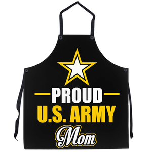 Proud U.S Army Mom String Apron - MotherProud