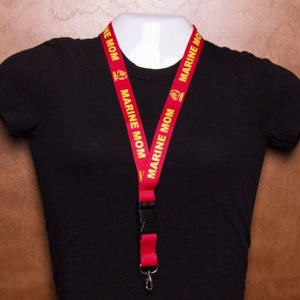 US Marine Mom Lanyard - MotherProud