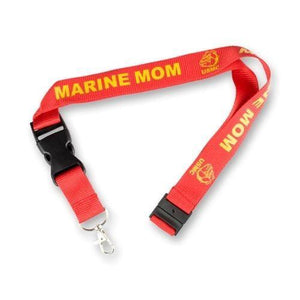 Decals & Stickers - US Marine Mom Lanyard