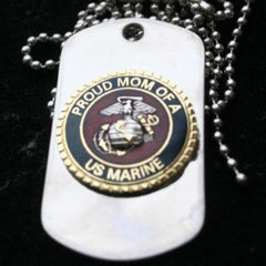 Proud Mom Of A US Marine DOG TAG