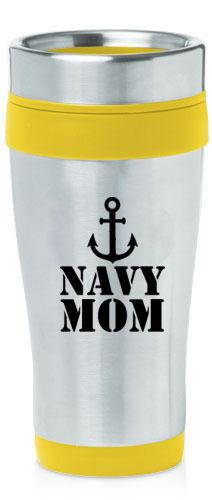Drink Containers & Thermoses - Navy Mom Travel Mug Coffee Cup