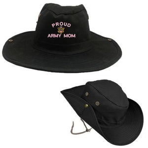 Hats - Proud Army Mom OUTDOOR BOONIE BUSH Hat