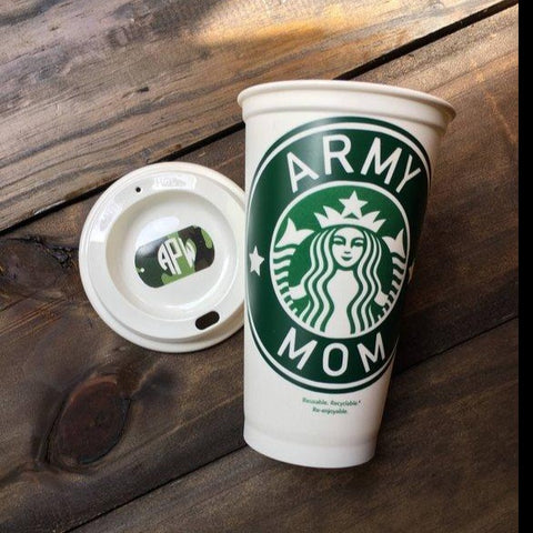 Army Family Members Starbucks Coffee Tumbler