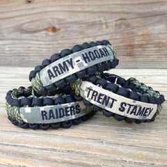 Army Mom CUSTOM Paracord Bracelet