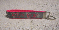 Army Mom Customizable ACU Name Tape Key Chain - MotherProud