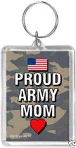 Proud ARMY MOM Key Chain Acrylic - MotherProud
