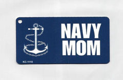 US Navy Mom Key Chains