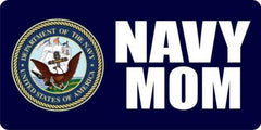 Navy Mom Photo License Plate - MotherProud