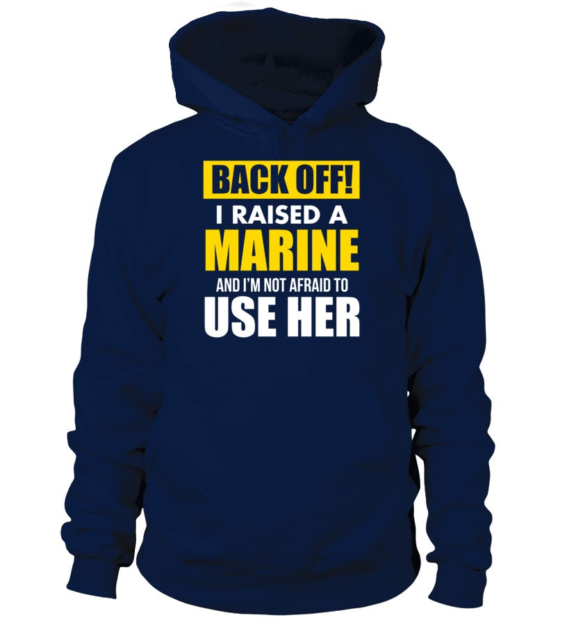 Marine Mom Back OFF T-shirts Daughter
