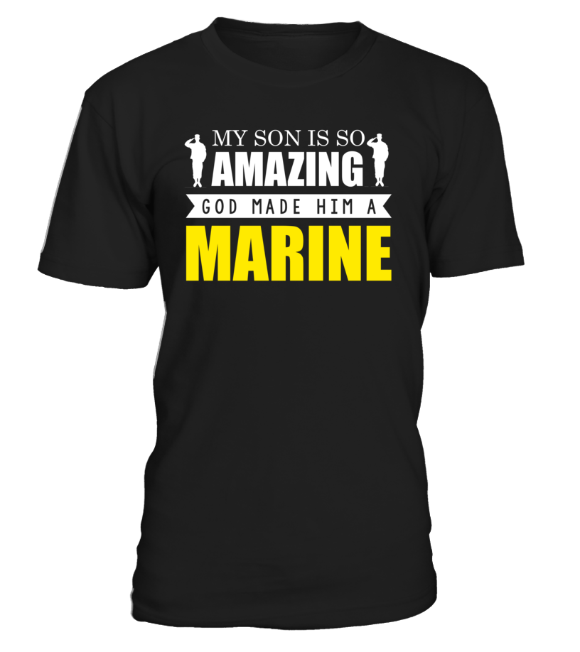 Marine Mom God Made A Marine