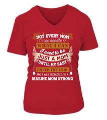 Marine Mom Strong T-shirts