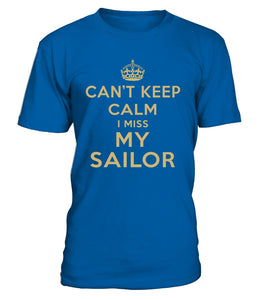 Navy Mom Can't Keep Calm T-shirts