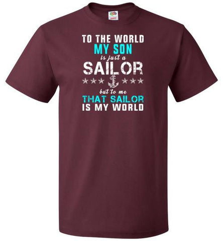 Navy Mom - My Sailor Is My World
