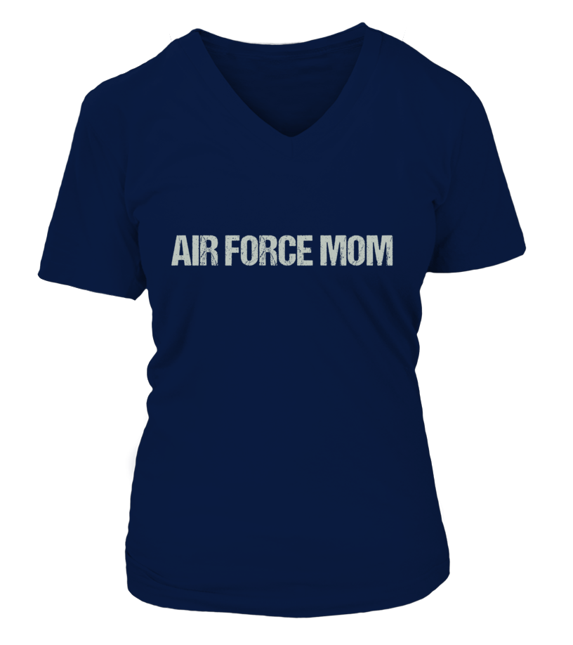 Never Underestimate Air Force Mom T-shirts