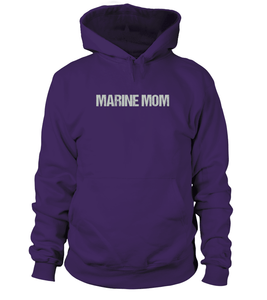 Never Underestimate Marine Mom T-shirts