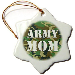 Janna Salak Designs Army Mom Ornament