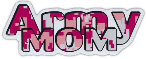 Military Car Magnets: ARMY MOM