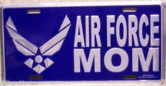 Aluminum Military License Plate Air Force Mom - MotherProud
