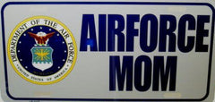 License plate U.S. Air Force Mom
