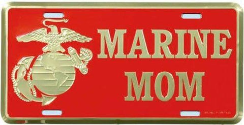 License Plate US Marine Corps MOM