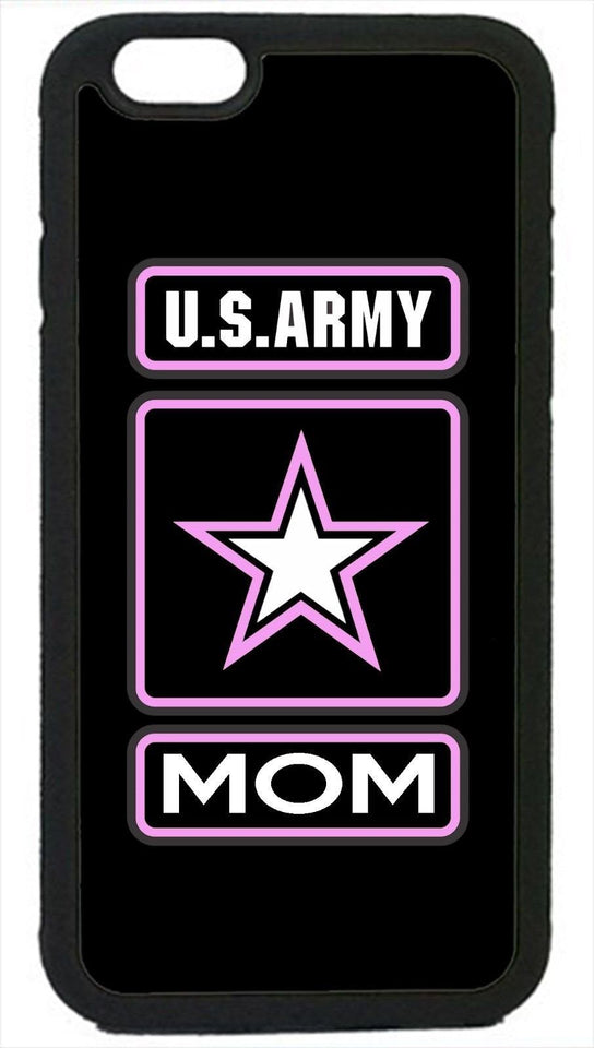 Phone Case - Black US Army Mom Iphone Case For 4 4s 5 5s 5c 6 6 Plus