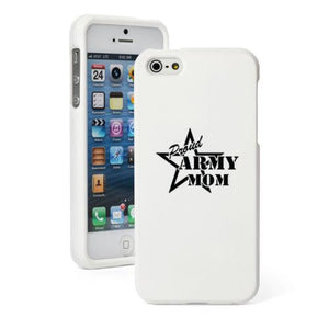 Phone Case - Proud Army Mom Iphone Case For 4 4S 5 5S 5c 6 6 Plus